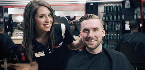 Sport Clips Haircuts of Frisco Legacy & Lebanon​ stylist hair cut